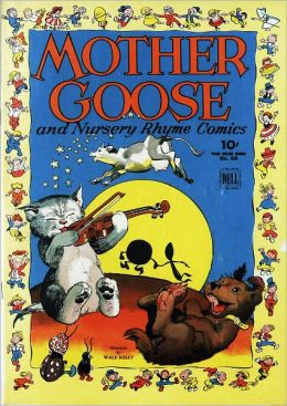 Mother Goose and Nursery Rhyme Comics Number 68 Childrens Comic Book
