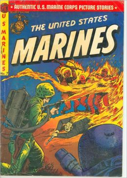 The United States Marines Number 7 War Comic Book