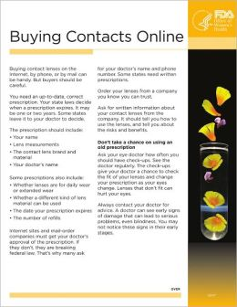 Buying Contacts Online
