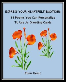 Express Your Heartfelt Emotions: 14 Poems You Can Personalize To Use As Greeting Cards