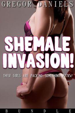Shemale Invasion! (Shemale Erotica Bundle)