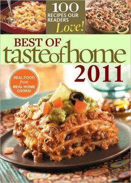 Best of Taste of Home 2011