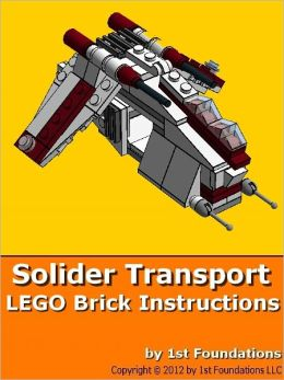 Soldier Transport - LEGO Brick Instructions by 1st Foundations