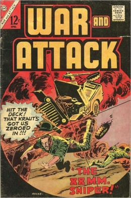 War and Attack Number 59 War Comic Book