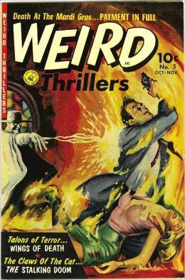 Weird Thrillers Number 5 Horror Comic Book