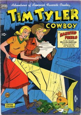 Tim Tyler Cowboy Number 17 Western Comic Book