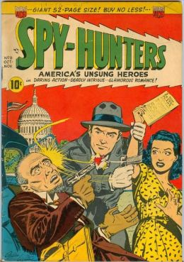 Spy Hunters Number 8 War Comic Book