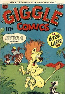 Giggle Comics Number 77 Childrens Comic Book