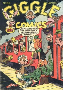 Giggle Comics Number 52 Childrens Comic Book