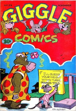 Giggle Comics Number 23 Childrens Comic Book