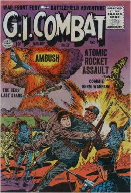 GI Combat Number 32 War Comic Book
