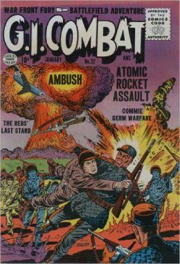 GI Combat Number 32 War Comic Book