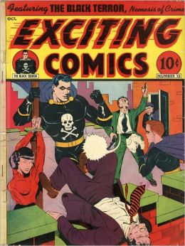 Exciting Comics Number 13 Action Comic Book