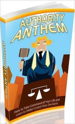 Inspiration & Personal Growth eBook - Authority Anthem - learn to make crystal clear decisions!