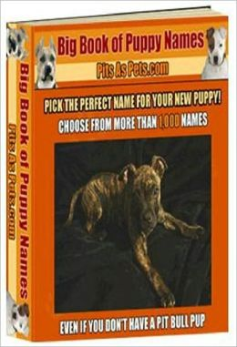 Love General Male Dog Nmanes eBook - BIG Book of Puppy Names