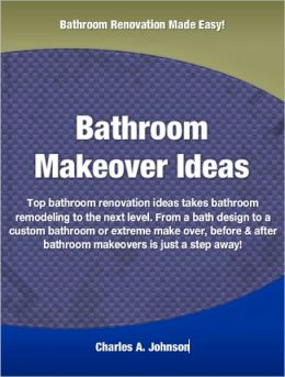 Bathroom Makeover Ideas: Top bathroom renovation ideas that takes bathroom remodeling to the next level. From a bath design to a custom bathroom or extreme make over, before & after bathroom makeovers is just a step away!