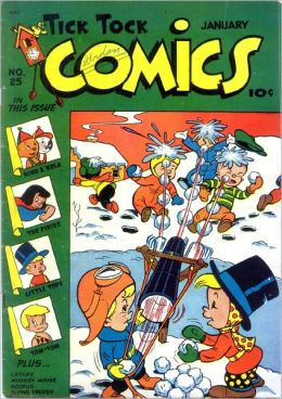 Tick Tock Tales Number 25 Childrens Comic Book