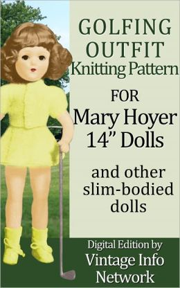 Golfing Outfit Knitting Pattern for Mary Hoyer 14