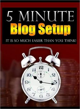 5 Minute Blog Setup