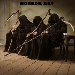 HORROR: HORROR ART 2012 ( horror, thriller, suspense, Dracula, vampire, devil, hell, death )