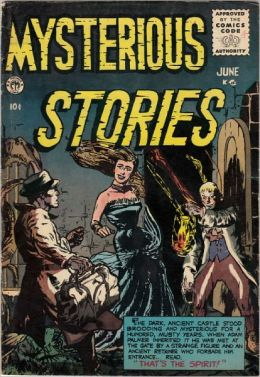 Mysterious Stories Number 4 Horror Comic Book