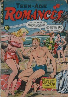 Teen Age Romances Number 9 Love Comic Book