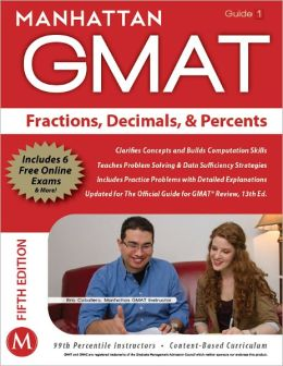 Fractions, Decimals, & Percents GMAT Strategy Guide, 5th Edition