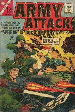 Army Attack Number 3 War Comic Book