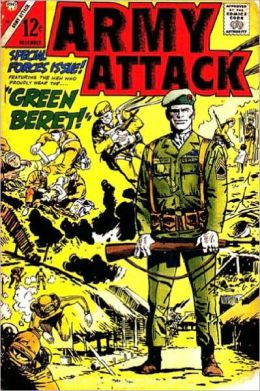 Army Attack Number 46 War Comic Book