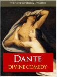 Book Cover Image. Title: THE DIVINE COMEDY [Authoritative and Complete Nook Edition] by Dante Alighieri, Author: Dante