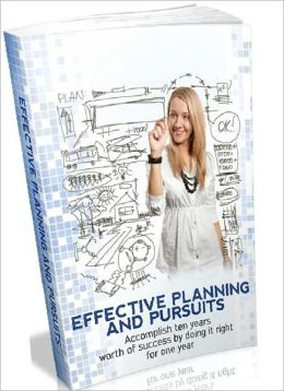 Inspiration & Personal Growth eBook - Effective Planning And Pursuits - Personal Development Enthusiasts..