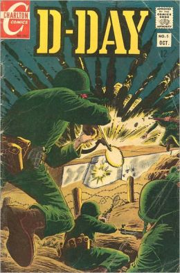 D-Day Number 5 War Comic Book