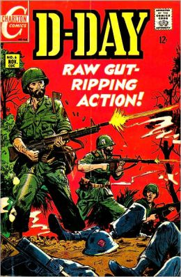 D-Day Number 6 War Comic Book