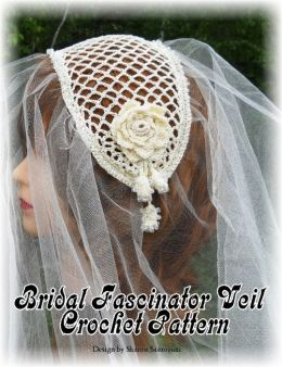 Bridal Fascinator Veil Crochet Pattern