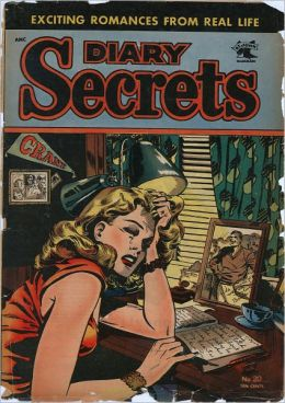 Diary Secrets Number 20 Love Comic Book
