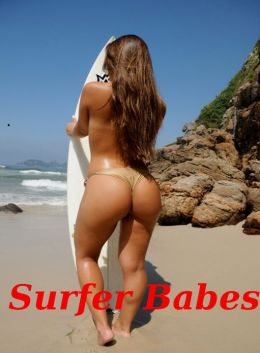 Surfer Babes: A Hot and Sexy Photo Collection of 100 Surfing Beauties In Action! AAA+++