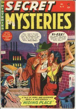 Secret Mysteries Number 16 Crime Comic Book