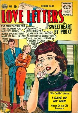 Love Letters Number 41 Love Comic Book