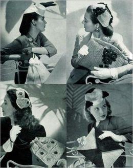 Crochet Matching Hats and Purses