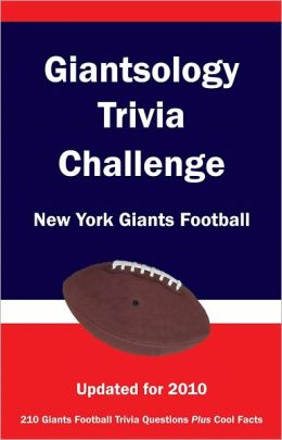 Giantsology Trivia Challenge: New York Giants Football