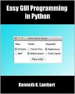 Easy GUI Programming in Python