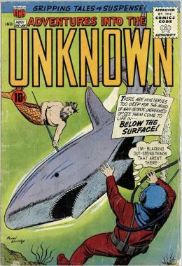 Adventures into the Unknown Number 121 Horror Comic Book