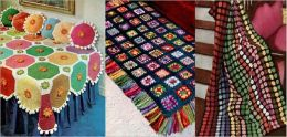 Bright and Beautiful Crocheted Afghan Patterns