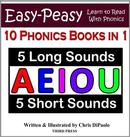 LONG & SHORT Vowel Sounds – 10 Books in 1 - Read, Play & Practice