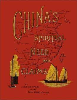 China's spiritual needs and claims