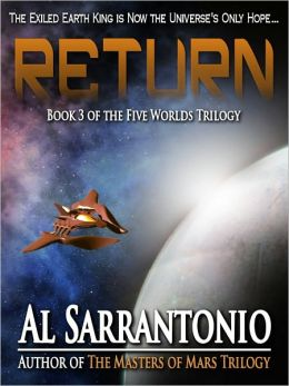 Return - Book III of the Five Worlds Trilogy