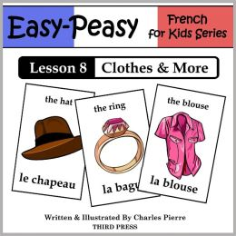 French Lesson 8: Clothes, Shoes, Jewelry & Accessories (Learn French Flash Cards)