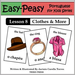Portuguese Lesson 8: Clothes, Shoes, Jewelry & Accessories (Learn Portuguese Flash Cards)