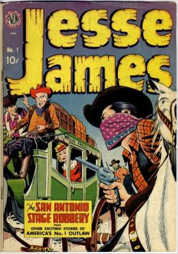 Jesse James Comic Book Issue No. 1