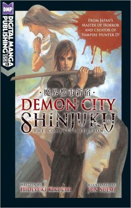Demon City Shinjuku: The Complete Edition (Novel)